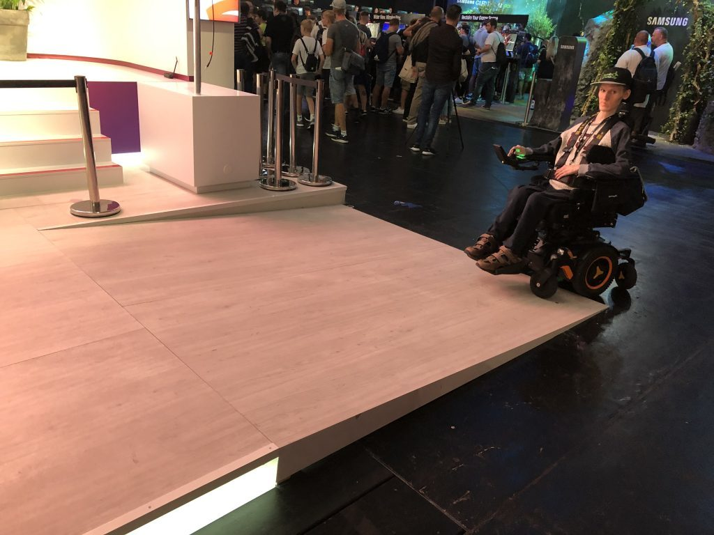 Gamescom 2019 Google Stadia YouTube Gaming Stand Rampe