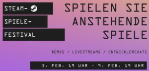 Read more about the article Steam Game Festival Februar 2021
